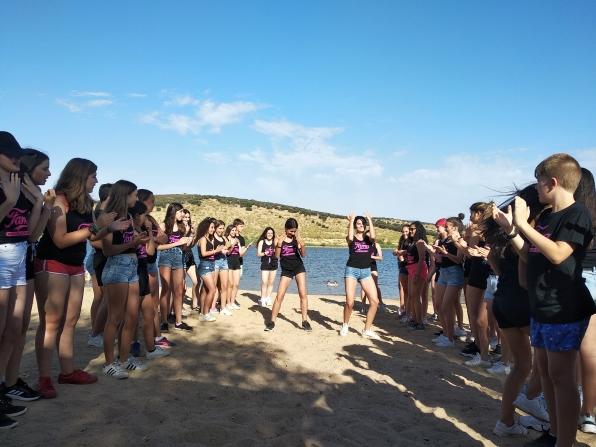 Baile en la playa