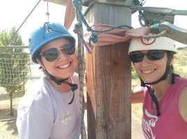 Fati y Ester, nuestras monitoras de altura!!